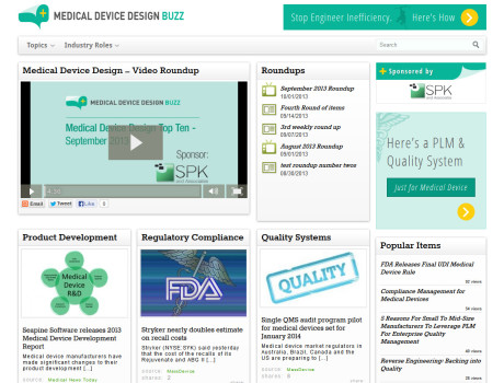 Medical Device Design Buzz