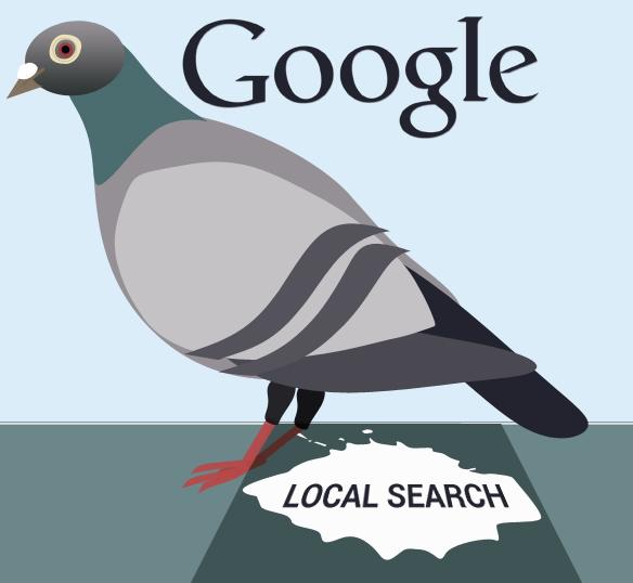 google pigeon impact