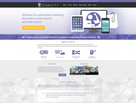 Pageflex Website