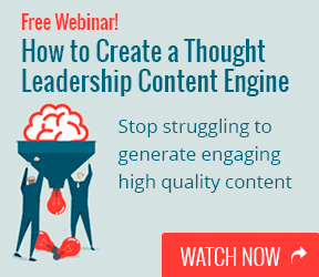 Webinar: How to Create a Thought Leadership Content Engine