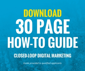 Closed-Loop Marketing Download Guide